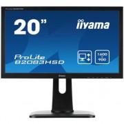 Monitor LED 19.5'' Prolite B2083HSD, 5ms, DVI, boxe, negru