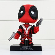 HeyBroh! - Deadpool - Wade Wilson - Wacky Wobbler Bobble Head - Superhero Movie Figure - Retail Box Not Included