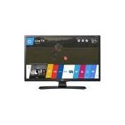 Smart TV LED LG 24 HD 24MT49S-PS Conversor Digital Wi-Fi integrado USB HDMI WebOS 3.5 Screen Share