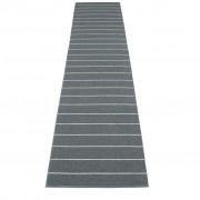 pappelina Carl Outdoor-Teppich - granit / sturmblau 70 x 350cm