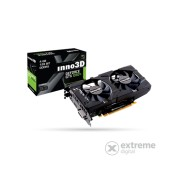 Placa video Inno3D PCI-E Nvidia GTX1050 TI Twin X2 (4096MB, DDR5, 128bit, 1290/7000Mhz, DVI, DP, HDMI)