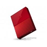 "Hard Disk extern WD My Passport 2,5"" 2TB USB3, rosu (WDBYFT0020BRD-WESN)"