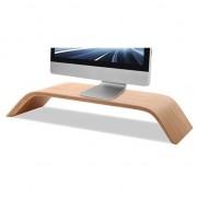 SAMDI Le moniteur en bois noyer SAMDI Design augmente l'écran iMac standard