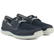 Clarks Marus Edge Navy Loafers For Men(Blue)