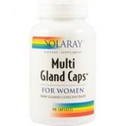 Multi gland caps for women 90cps SOLARAY