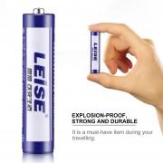 EB LEISE Durable Estable A Prueba De Explosiones Sin Mercurio R03 Tamaño AAA UM4 1.5V Batería Azul Y Blanco