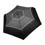 Doppler Femei umbrelă de pliere complet automat Fiber Magic XS Tricolore negru 747465TR03-Stars