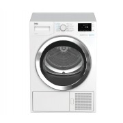 Uscator de rufe Beko DH9444RXWST, 9 kg, 16 programe, Eco Gentle - Heat Pump, Steam Therapy, Clasa A++, LED, Alb
