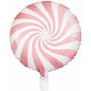 Balon Folie Acadea 45 cm roz pal