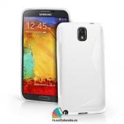 Husa Samsung N9000 Galaxy Note 3 Silicon Gel Tpu S-Line Alba