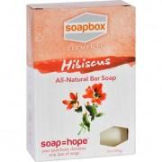 SoapBox Bar Soap - Elements - Hibiscus - 5 oz
