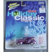 Johnny Lightning 2002 Holiday Classic Ornaments '40 Ford Sedan Delivery PURPLE