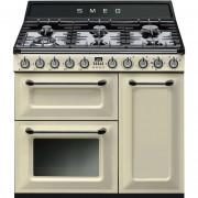 SMEG Tr93p Cucina 90x60 6 Fuochi A Gas Forno Elettrico Termoventilato 61 Litri C