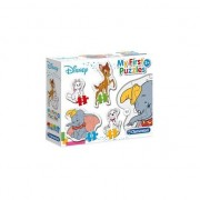 Puzzle Clementoni - My First Puzzles - Disney, 3/6/9/12 piese (62365)