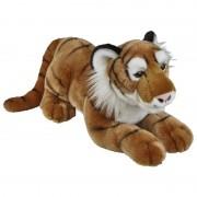 Merkloos Grote pluche bruine tijger knuffel 50 cm speelgoed