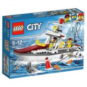 Lego Fishing Boat 60147 Multi Color