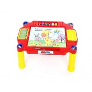 GRAPPLE DEALS 3 In 1 Learning Desk Learn, Write And Paint With Colours,Pencil,Eraser And Much More For Kids.