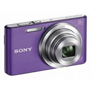 Sony Cyber-shot DSC-W830/BC E32 Point Shoot Camera(Violet)