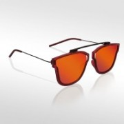 Knotyy Retro Square Sunglasses(Orange)