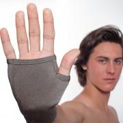 Padycare Rękawiczki bez palców lecznicze na azs PADYCARE pokryte w 100% srebrem, 2szt. w opk.