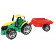 Tractor gigant Lena cu remorca