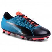 Pantofi PUMA - Spirit II Fg 105521 01 Black/Bleu Azur/Red Blast