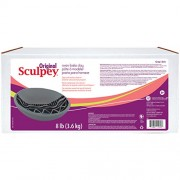 Sculpey Original Polymer Clay 8lb-Gray (Pack of 1 )