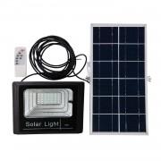 Proiector 30W cu panou solar si telecomanda cu functii multiple
