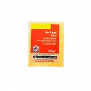 HERITAGE FORMAGGIO RED LEICESTER 200G