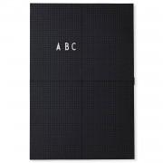 Design Letters Anslagstavla A3, Black