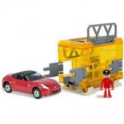 Tomica Mobile Base Search and Rescue Nissian Fairlady Z Roadster