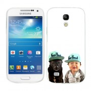 Husa Samsung Galaxy S4 Mini i9190 i9195 Silicon Gel Tpu Model Bebelus Si Caine New York