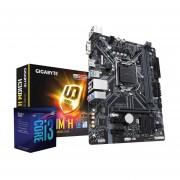 Micro Procesador Intel Core I3-8100 + Tarjeta Madre Asrock H310M-HDV
