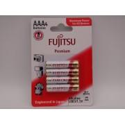 Baterii alcaline Fujitsu AAA LR03 1.5V Premium blister 4 FP-W-FI