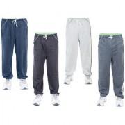 KETEX Multi Hosiery Trackpants Pack of 4
