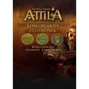 TOTAL WAR: ATTILA- LONGBEARDS CULTURE PACK - STEAM - PC - WORLDWIDE