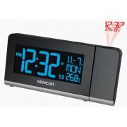 Kivetítős ébresztőóra, 3 színüzemmód, rádiójel vezérelt óra SDC 8200