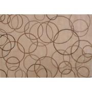 Vlněný koberec DESIGN Silk Rounds d-34, 170x240 cm