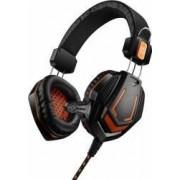Casti Gaming CANYON CND-SGHS3 2x 3.5mm Jack Black-Orange