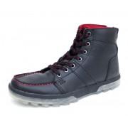 boty zimní pánské DC - Woodland Se - BLACK-RED