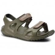 Crocs Sandały CROCS - Swiftwater River Sandal M 203965 Army Green/Khaki