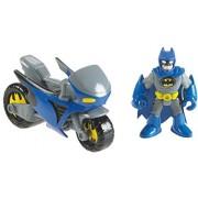 Fisher-Price Imaginext Dc Super Friends Exclusive Gotham City Batman Catwoman Cycles