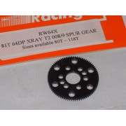 RW 64X81T 81 Tooth Xray T2, T3 Offset Supa-lite Spur Gears 64dp