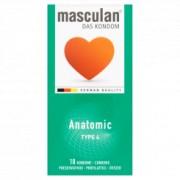 Masculan anatomski kondomi tip 4 pakovanje od 10kom