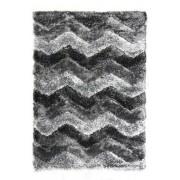Černý kusový koberec Istanbul - délka 170 cm a šířka 120 cm