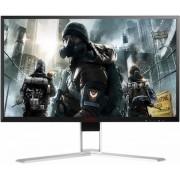 "Monitor Gaming TN LED AOC AGON 23.8"" AG241QG, WQHD (2560 x 1440), HDMI, DisplayPort, 1 ms, 165 Hz, G-Sync, Pivot, Boxe (Negru-Argintiu)"