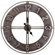 Zegar ścienny metalowy duży RETRO LOFT 76 cm XL