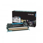 Lexmark Originale X 748 DTE Toner (X748H1CG) ciano, 10,000 pagine, 2.21 cent per pagina - sostituito Toner X748H1CG per X 748DTE