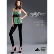 Gabriella - Long opaque leggings Microfibre 100 denier