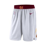 Short de NBA Cleveland Cavaliers Nike Association Edition Swingman pour Homme - Blanc